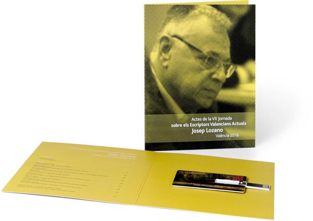 Actes de la VII Jornada sobre els Escriptors Valencians Actuals. Josep Lozano. València 2018