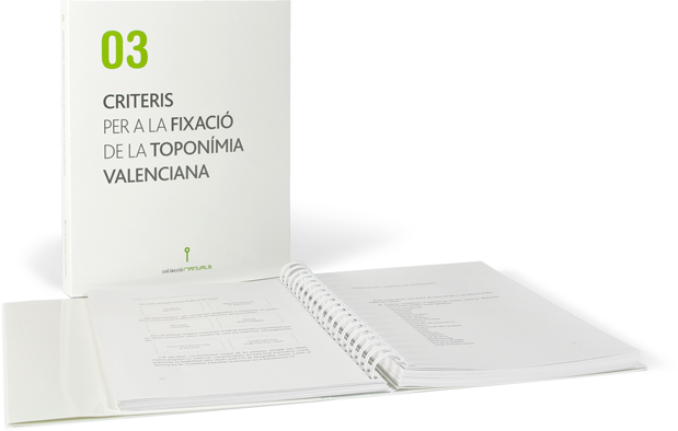 Criteris per a la fixació de la toponímia valenciana