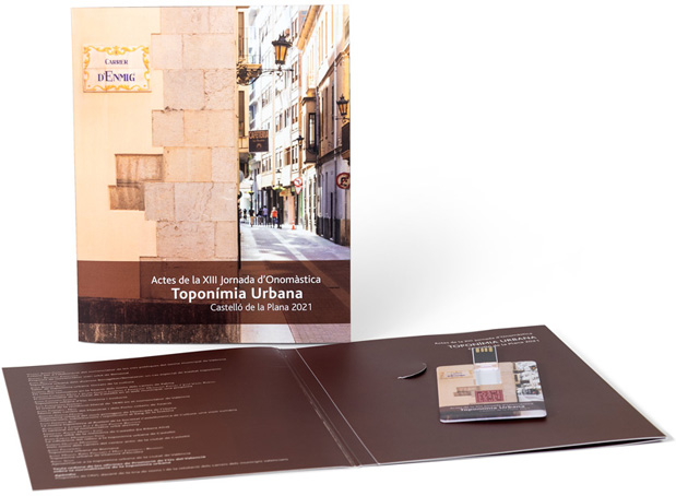 Actes de la XIII Jornada d'Onomàstica. «Toponímia Urbana». Castelló de la Plana, 2021